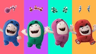 Wrong Hair Colors Oddbods Learn Colors Finger Family Song Nursery Rhymes for Kids Funny Video