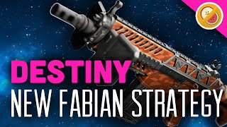 DESTINY NEW Fabian Strategy Exotic Auto Rifle Review (The Taken King Exotic)