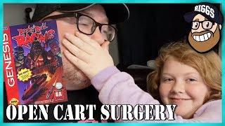 Open Cart Surgery - Rock n' Roll Racing for Sega Genesis