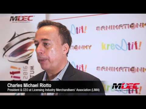 Charles Michael Riotto - President & CEO at Licensing Industry Merchandisers' Association (LIMA)