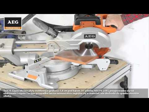 Test ukonicy AEG PS 254 L