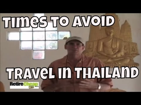 Dangers and Inconveniences of Traveling In Thailand During Elections and Holidays