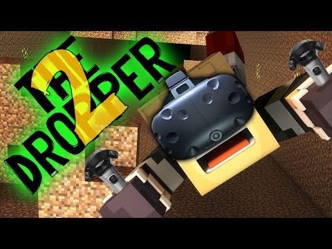 SKYDIVING IN MINECRAFT 2! - VR Minecraft (HTC Vive Virtual Reality!)