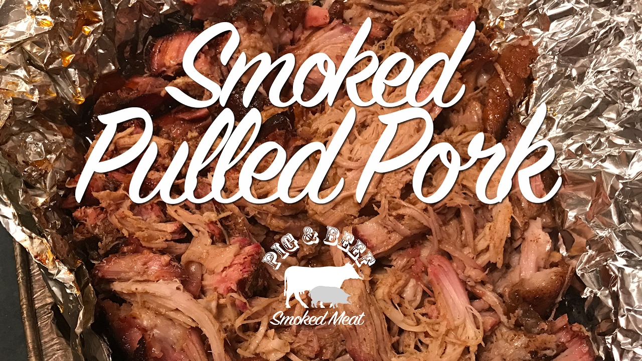 Pulled Pork På Gasgrill 6 Timer : Smoked pulled pork smoked on a wood pellet grill traeger youtube