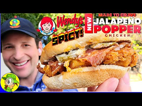 Wendys®-SPICY-JALAPENO-POPPER-CHICKEN-SANDWICH-Review-👧🌶️💥🐔🥪-⎮-Peep-THIS-Out-🕵️♂️