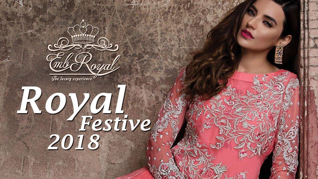 9fd168e94c Emb Royal Bridal and Formal Festive Collection 2018 Volume 4 - Pakistani  Bridal Dresses