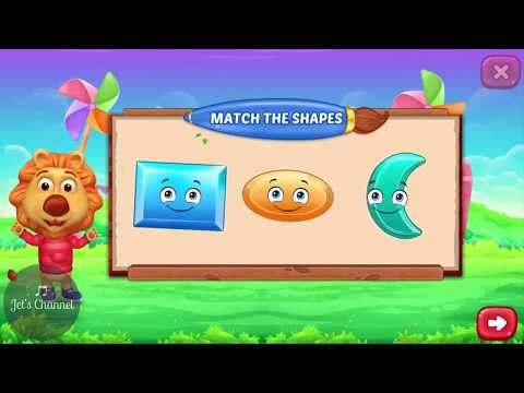 Shapes Kids | Matching shapes | Learn shape for kids | Jet's Channel