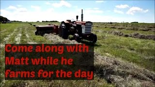 Matt at the farm: Antique tractors and a day in the life of a farmer