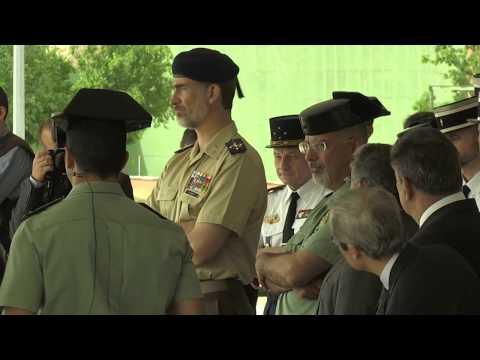 """S.M. el Rey visita el Colegio de Guardias Jóvenes  """"Duque de Ahumada"""""""