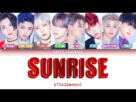 ATEEZ (에이티즈) - Sunrise  (Legendado ROM|PT-BR|ENG)