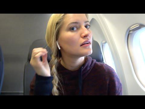 AirPods on Plane!   iJustine