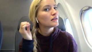 AirPods on Plane! | iJustine