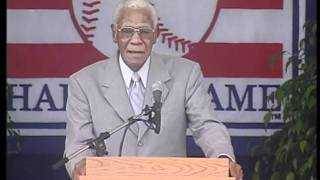 Buck O Neil - Baseball Hall of Fame Induction Ceremony Speech