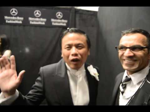 Zang Toi interview backstage