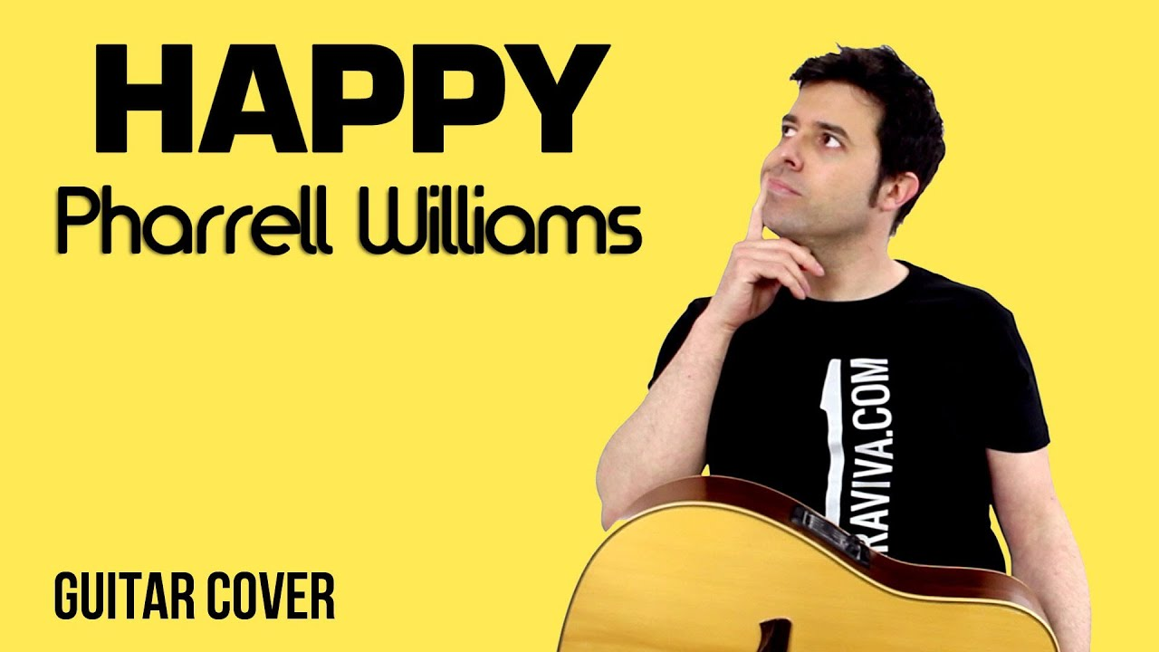 Happy - Pharrel Williams guitar Cover | FunnyDog.TV