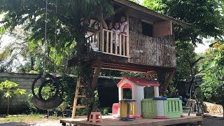 Update Rumah Pohon Tempat Playground Bermain Anak - Tree House