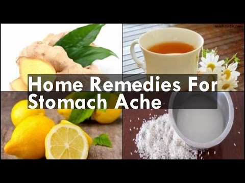 Home Reme For Stomach Ache