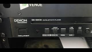 New Diana Bluetooth CD player
