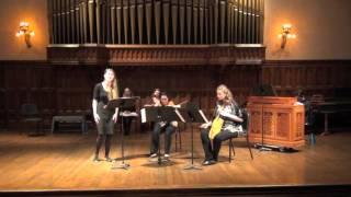 O Rosa bella by Johannes Ciconia: CWRU Medieval Ensemble