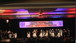 Rankin Junior Tamburitzans CFU Festival 2014