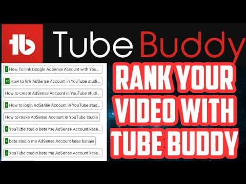 Best SEO Tool for your YouTube videos||How to use tube buddy App on Android full tutorial - YouTube