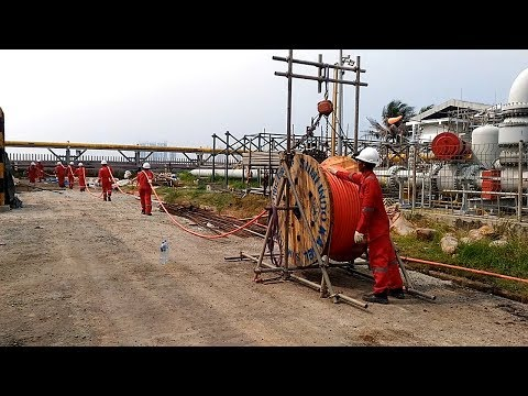 Oil and Gas Cable Pulling | Cable Laying | Cable Installation