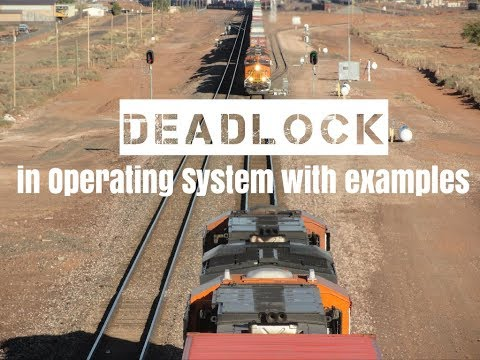 Deadlock In Operating System - Part1 ||  With Real Life Examples ||  By WISDOPE