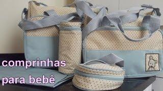 Compra Internacional: Bolsa para o bebê loja Tmart.com