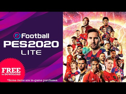 eFootball PES 2020 Lite - Launch Trailer