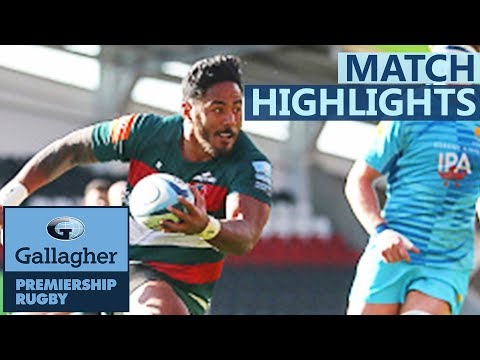 Leicester Tigers v Worcester Warriors | Last Minute Try Decides Thriller | Gallagher Premiership