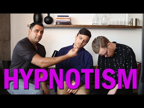 Being Hypnotized For The First Time