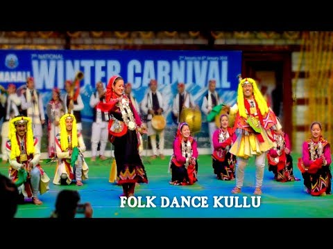 KULLAVI FOLK DANCE Performed by Bhumteer Group in Winter Carnival Manali 2018