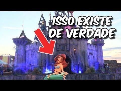 O PARQUE TODO DESTRUÍDO DA DISNEY ISSO EXISTE DE VERDADE
