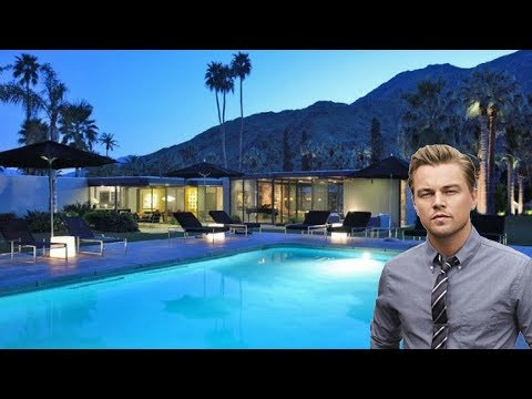 Leonardo Dicaprio's Awesome Mansion House Tour in Palm Spring California