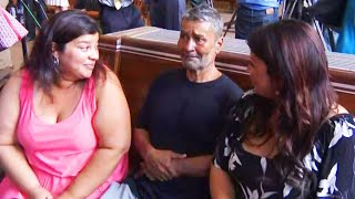 Homeless Man Reunites With Daughters After 20 Years