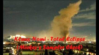 Klaus Nomi Total Eclipse (Mickey