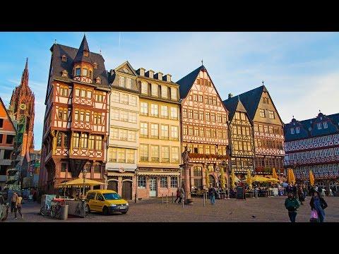 CUTE GERMAN CITY | Frankfurt Vlog