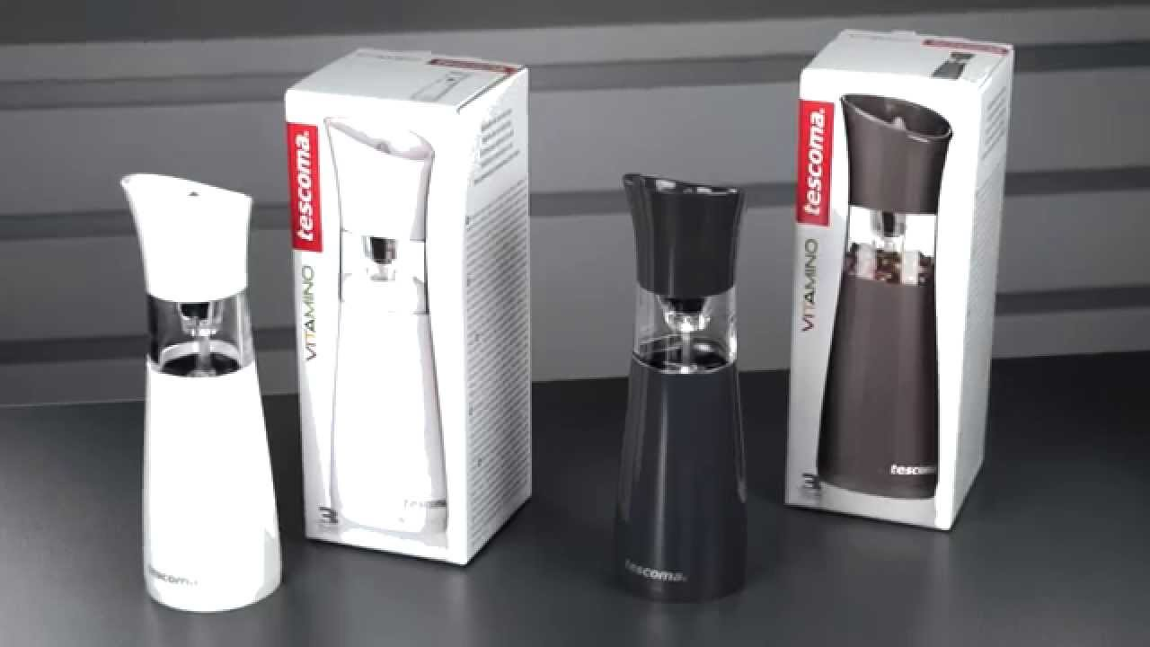 Electric Salt And Pepper Mill Vitamino Youtube