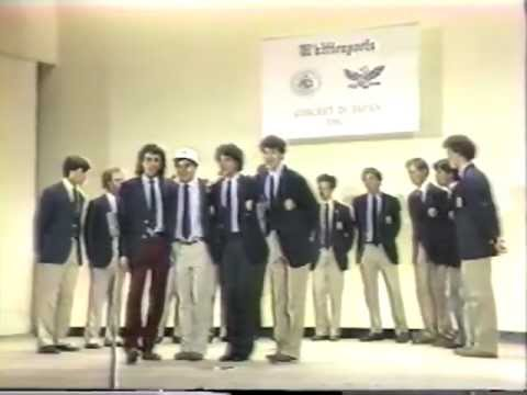 Yale Whiffenpoofs of 1982 Concert in Japan, Part 5 of 7