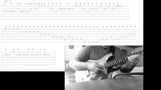 Arbel Aruch - Asia - Ready to Go Home Solo ( Guthrie Govan ) + Tab