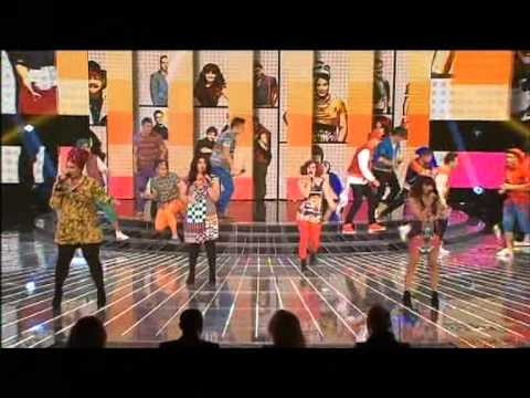 THE top 12 - Call Me Maybe - Live Decider 1 - The X Factor Australia 2012 - Top 12 [FULL]