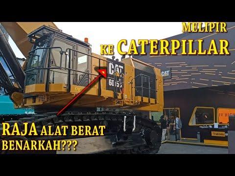 PAMERAN ALAT BERAT TAMBANG CATERPILLAR JAKARTA, INTIP EXCAVATOR BESAR 6015B