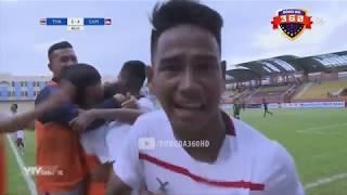 Thailand 3-4 Cambodia | AFF U18 CHAMPIONSHIP 2019 | Group A | 09/08/2019
