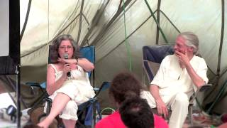 "Allyson and Alex Grey - ""Psychedelic Family Business"" - Burning Man 2012"