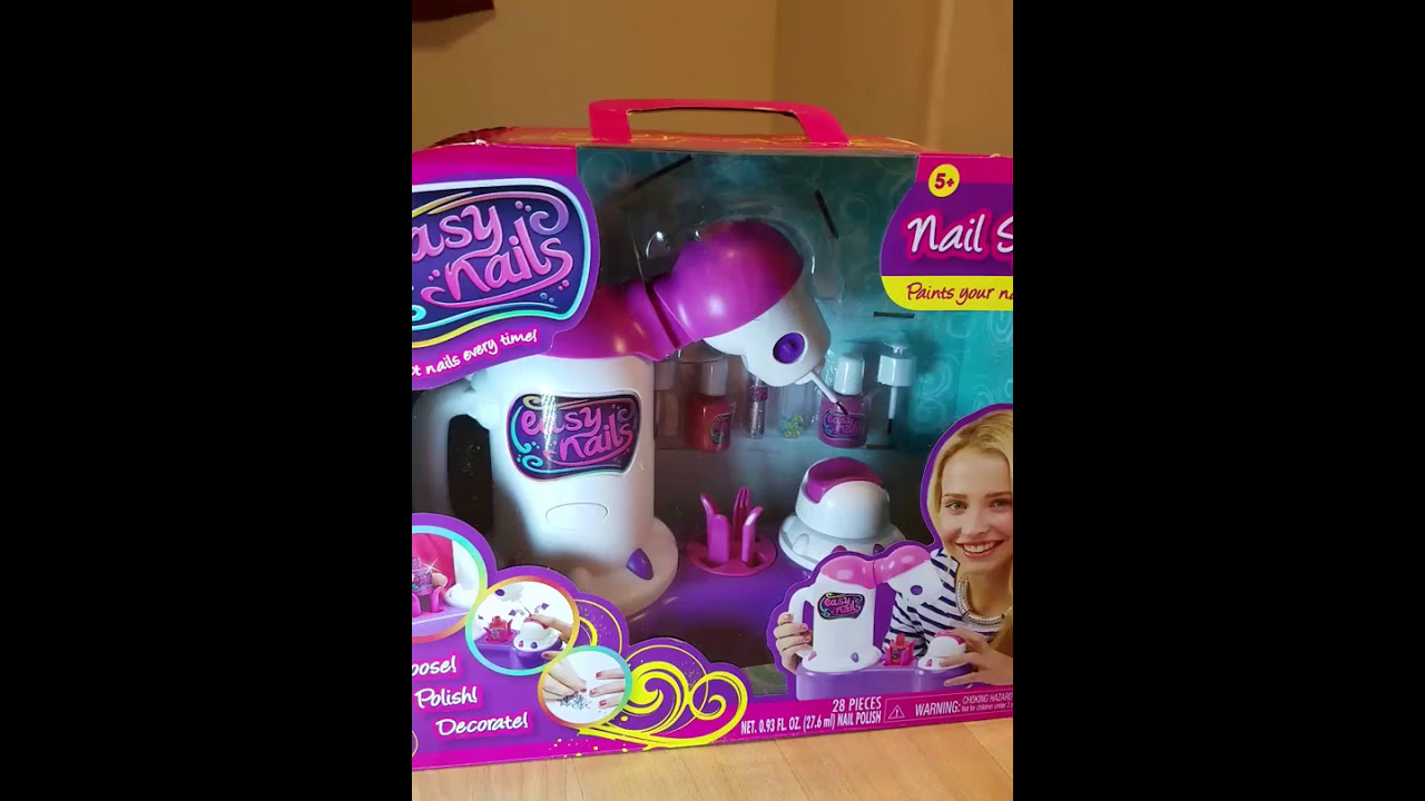 Easy Nail Nail Spa /Fun Nails/fun review/dream toy for kids - YouTube