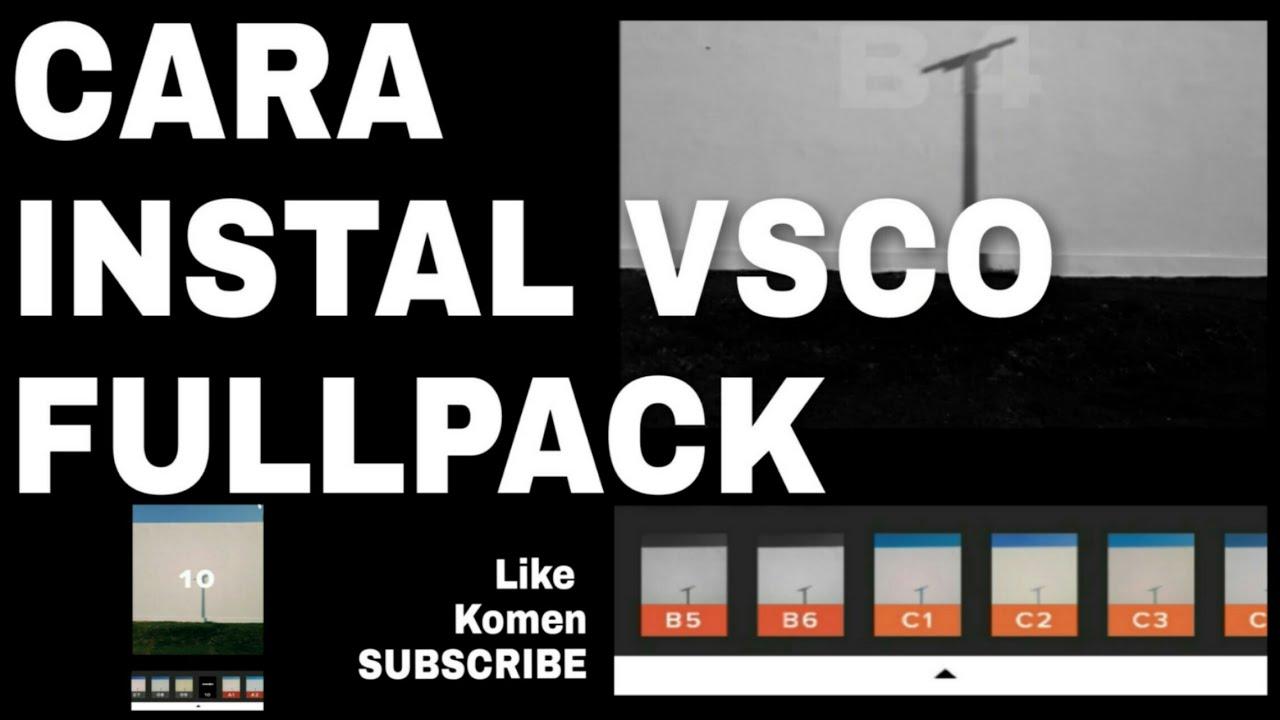 download vsco fullpack 2019