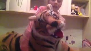 Наш игрушечный тигр Шархан😁😂 Описание👇