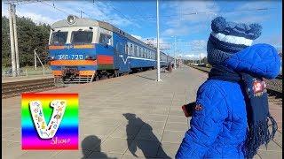 Детский канал Поезда и вагоны Смотрим на поезда Видео про железнодорожный транспорт Trains VLOG