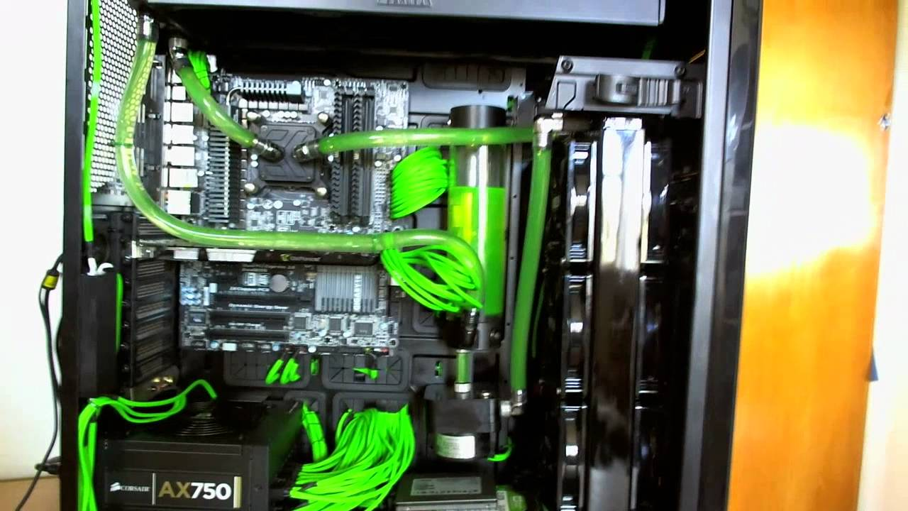 Nzxt Switch 810 Fully Mod D With A Water Cooled Loop 420