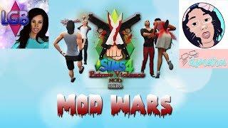 The Sims 4: Mod Wars W/ ItsMeTroi 10 Minute Serial Killer